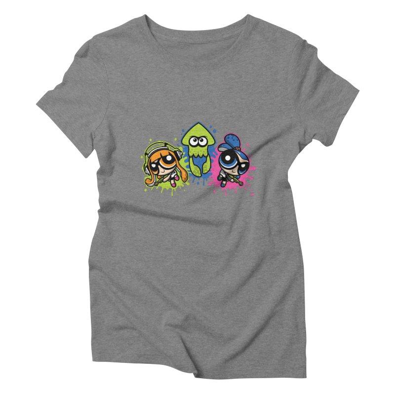 Splatoon Puff Women's Triblend T-Shirt by Moysche's Shop