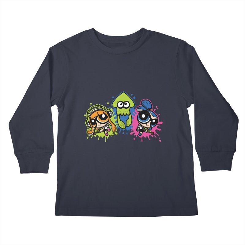 Splatoon Puff Kids Longsleeve T-Shirt by Moysche's Shop