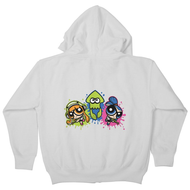 Splatoon Puff Kids Zip-Up Hoody by moysche's Artist Shop
