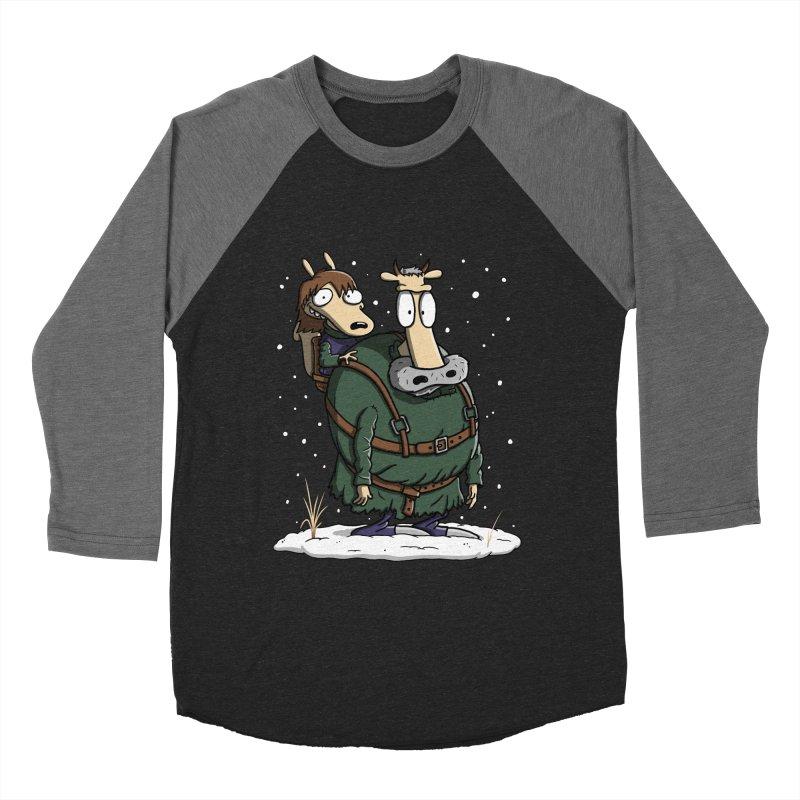 Bran's Modern Life Women's Baseball Triblend T-Shirt by moysche's Artist Shop