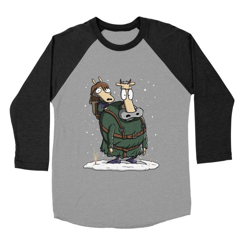 Bran's Modern Life Men's Baseball Triblend T-Shirt by moysche's Artist Shop