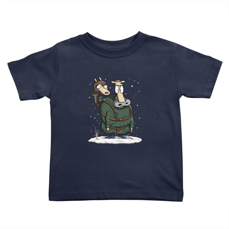 Bran's Modern Life Kids Toddler T-Shirt by moysche's Artist Shop