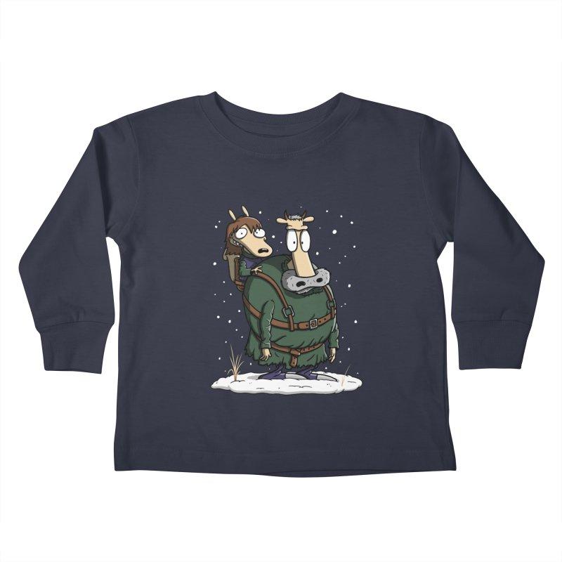 Bran's Modern Life Kids Toddler Longsleeve T-Shirt by moysche's Artist Shop