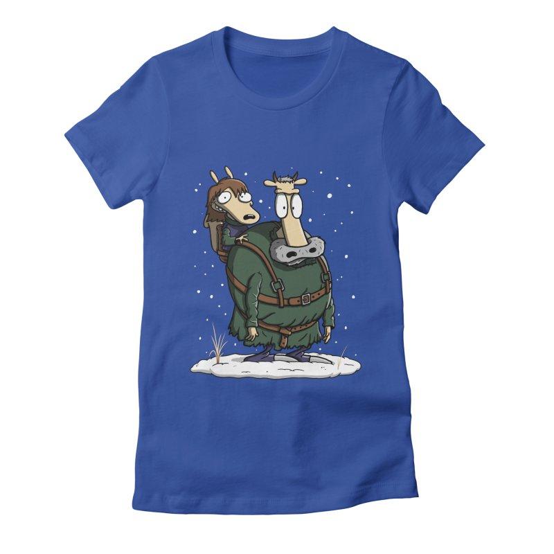 Bran's Modern Life Women's Fitted T-Shirt by moysche's Artist Shop
