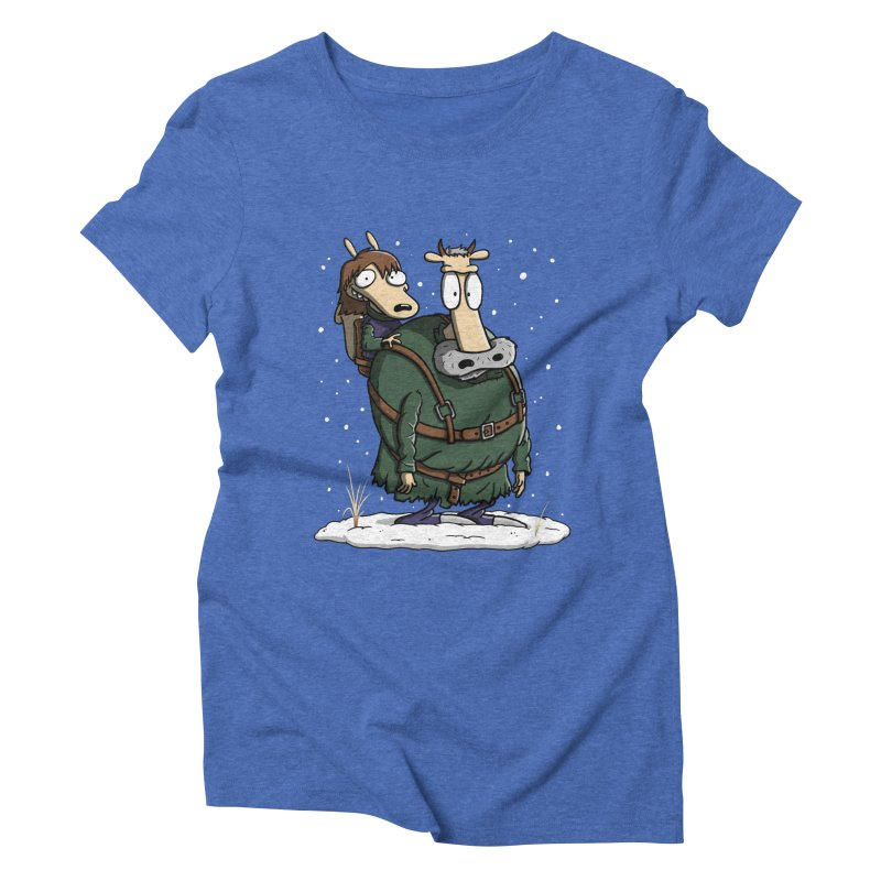 Bran's Modern Life Women's Triblend T-Shirt by Moysche's Shop