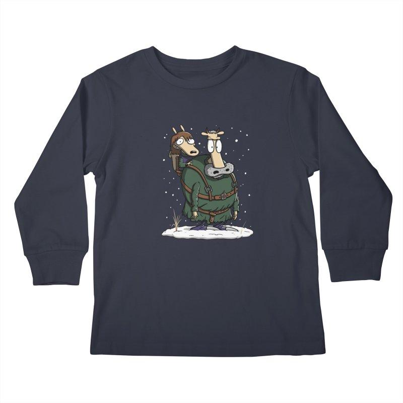 Bran's Modern Life Kids Longsleeve T-Shirt by Moysche's Shop