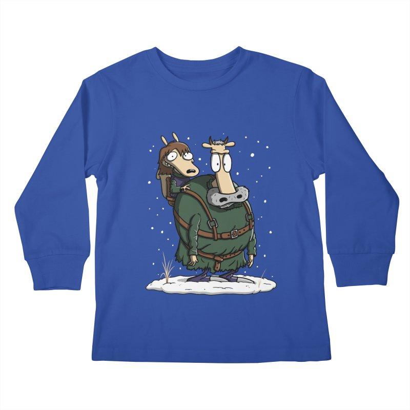 Bran's Modern Life Kids Longsleeve T-Shirt by moysche's Artist Shop