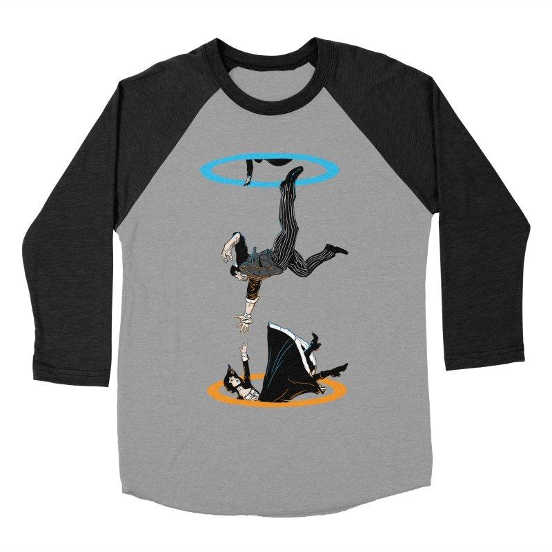 The Infinite Loop Men's Baseball Triblend T-Shirt by moysche's Artist Shop