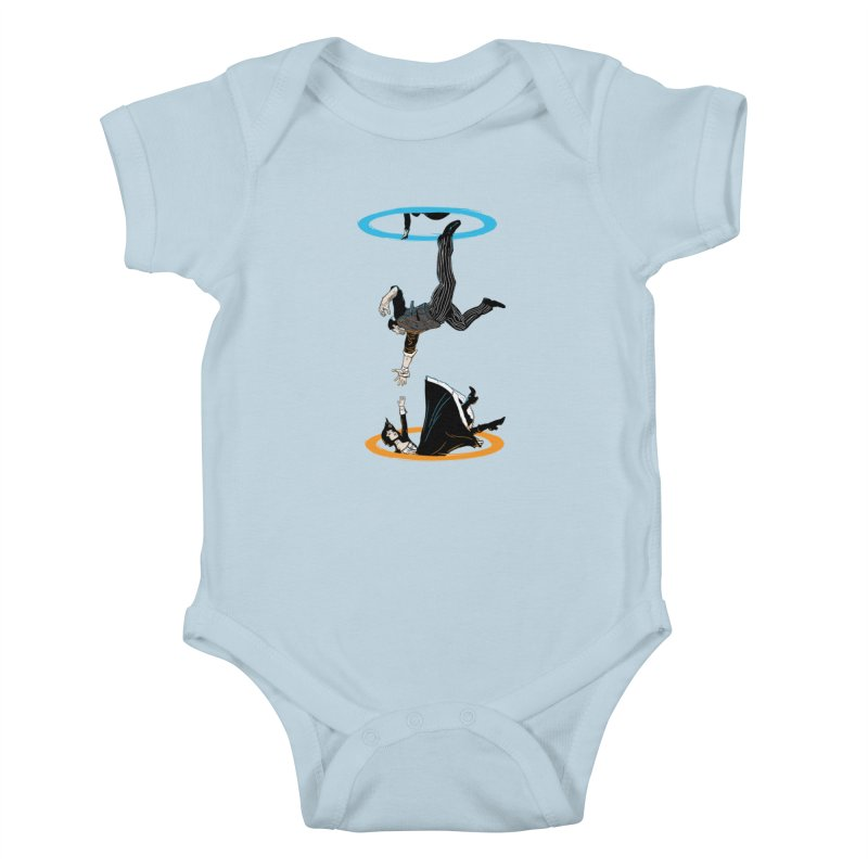 The Infinite Loop Kids Baby Bodysuit by Moysche's Shop
