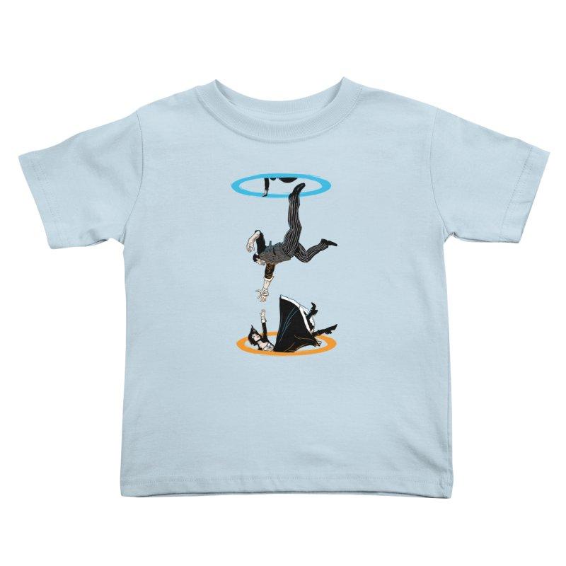 The Infinite Loop Kids Toddler T-Shirt by moysche's Artist Shop