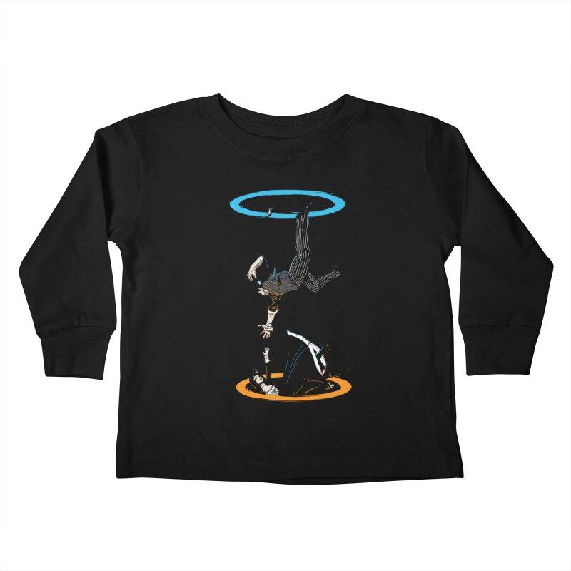 The Infinite Loop Kids Toddler Longsleeve T-Shirt by moysche's Artist Shop