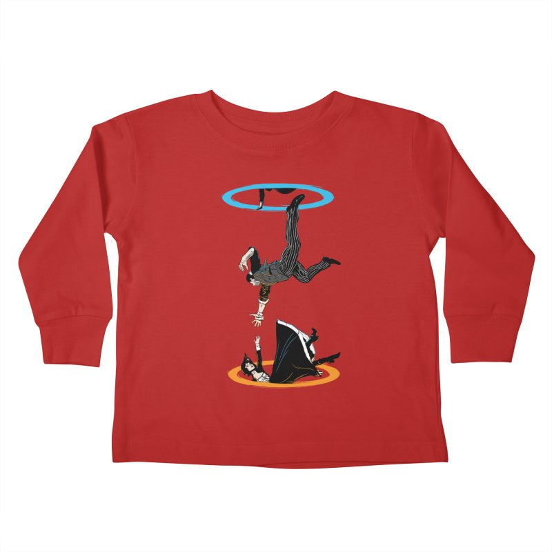 The Infinite Loop Kids Toddler Longsleeve T-Shirt by moysche's Artist Shop