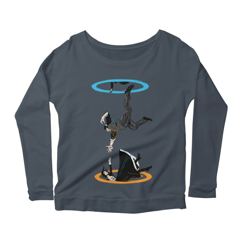 The Infinite Loop Women's Longsleeve Scoopneck  by moysche's Artist Shop
