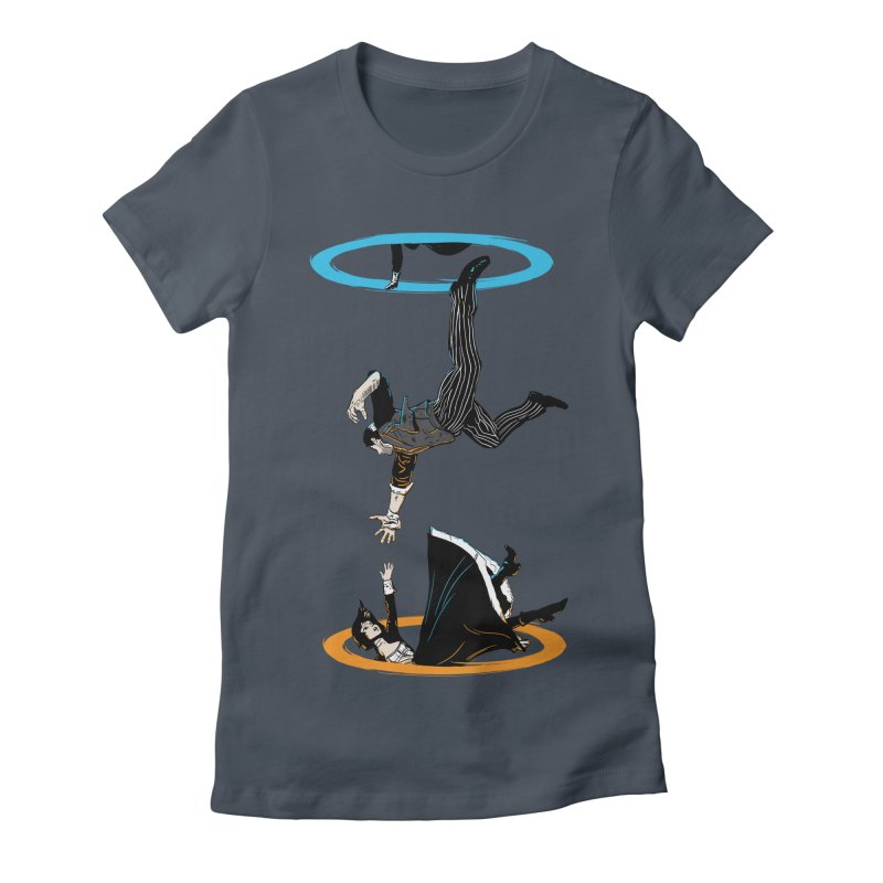The Infinite Loop Women's Fitted T-Shirt by Moysche's Shop