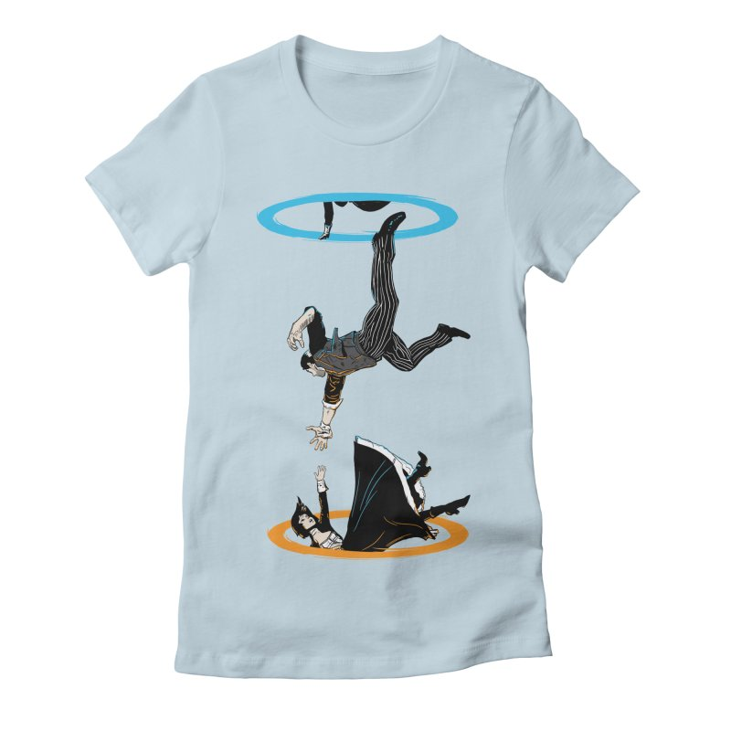 The Infinite Loop Women's Fitted T-Shirt by moysche's Artist Shop