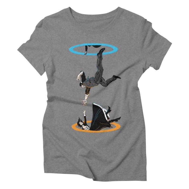 The Infinite Loop Women's Triblend T-Shirt by Moysche's Shop