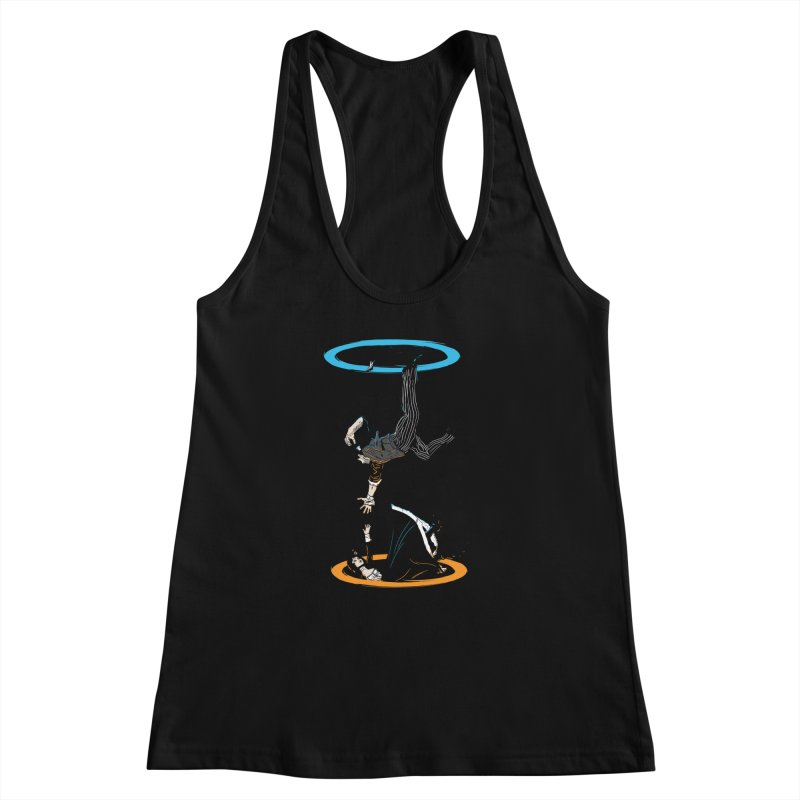 The Infinite Loop Women's Racerback Tank by moysche's Artist Shop