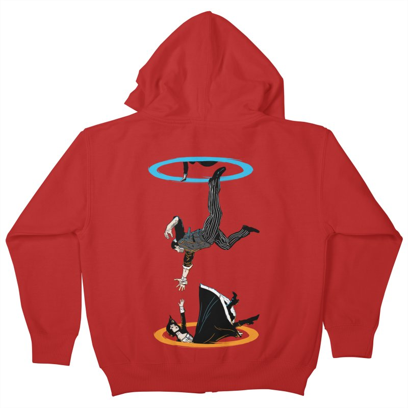 The Infinite Loop Kids Zip-Up Hoody by moysche's Artist Shop