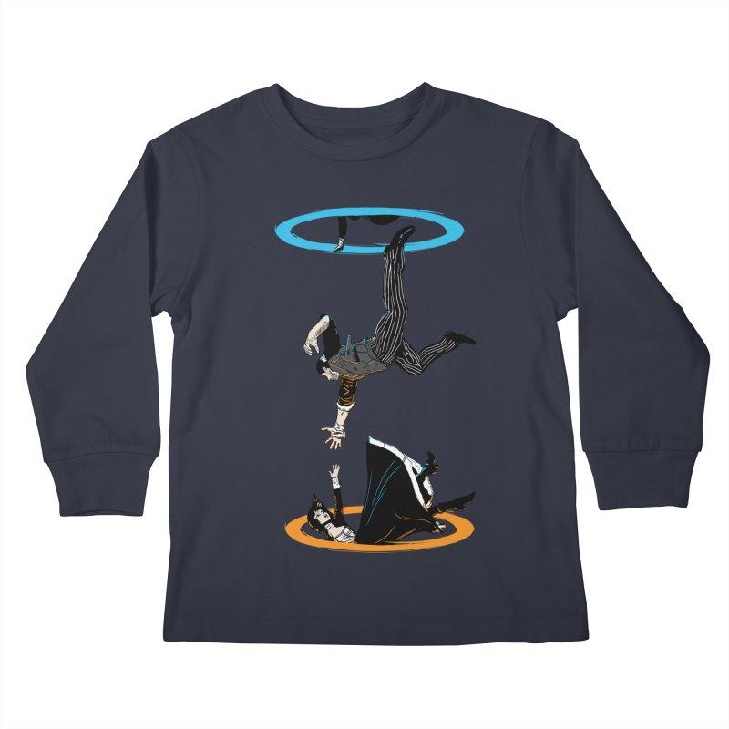 The Infinite Loop Kids Longsleeve T-Shirt by moysche's Artist Shop