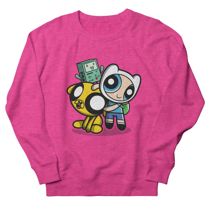 Adventure Puff Buds Women's Sweatshirt by moysche's Artist Shop
