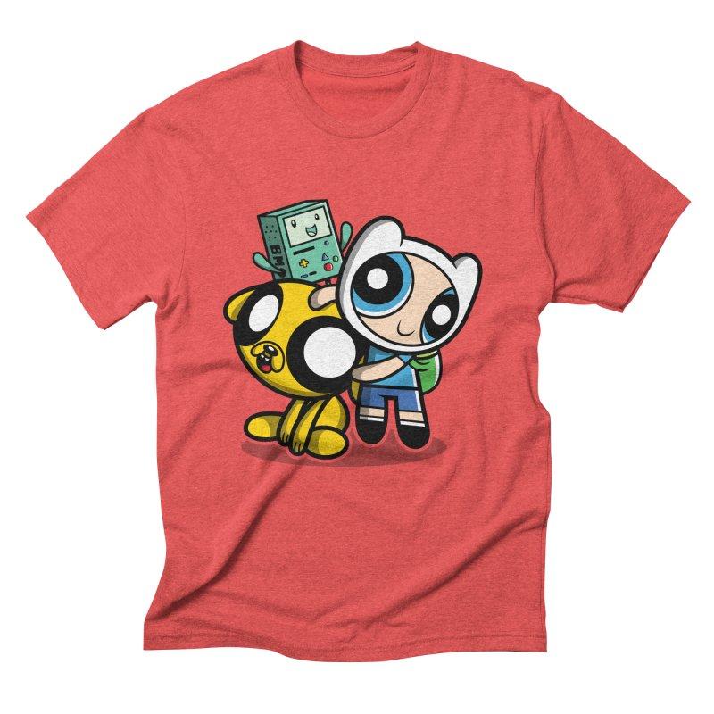 Adventure Puff Buds Men's Triblend T-Shirt by Moysche's Shop