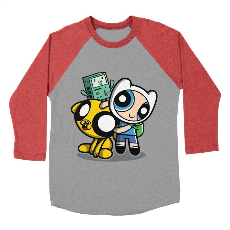 Adventure Puff Buds Men's Baseball Triblend T-Shirt by Moysche's Shop