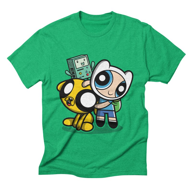 Adventure Puff Buds Men's Triblend T-shirt by moysche's Artist Shop