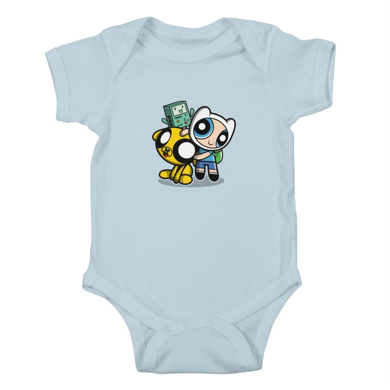 Adventure Puff Buds Kids Baby Bodysuit by Moysche's Shop