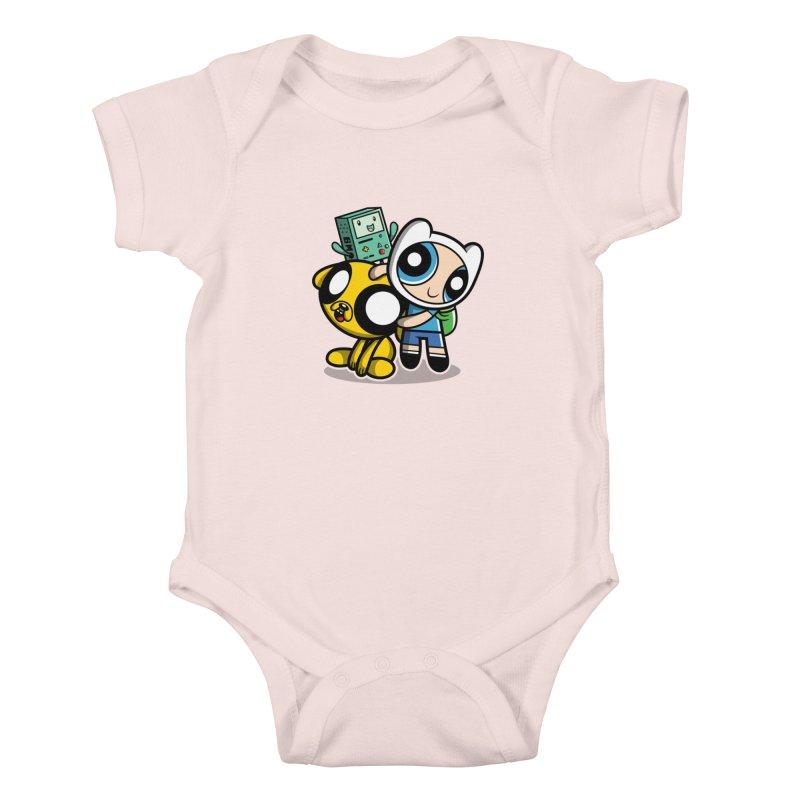 Adventure Puff Buds Kids Baby Bodysuit by Moysche's Shop