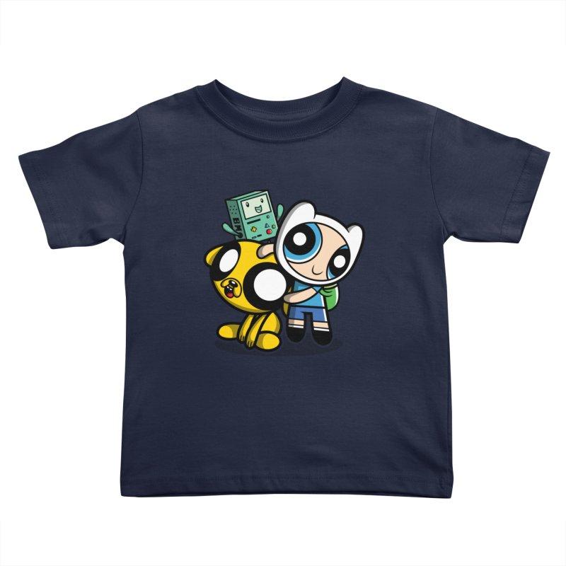 Adventure Puff Buds Kids Toddler T-Shirt by moysche's Artist Shop