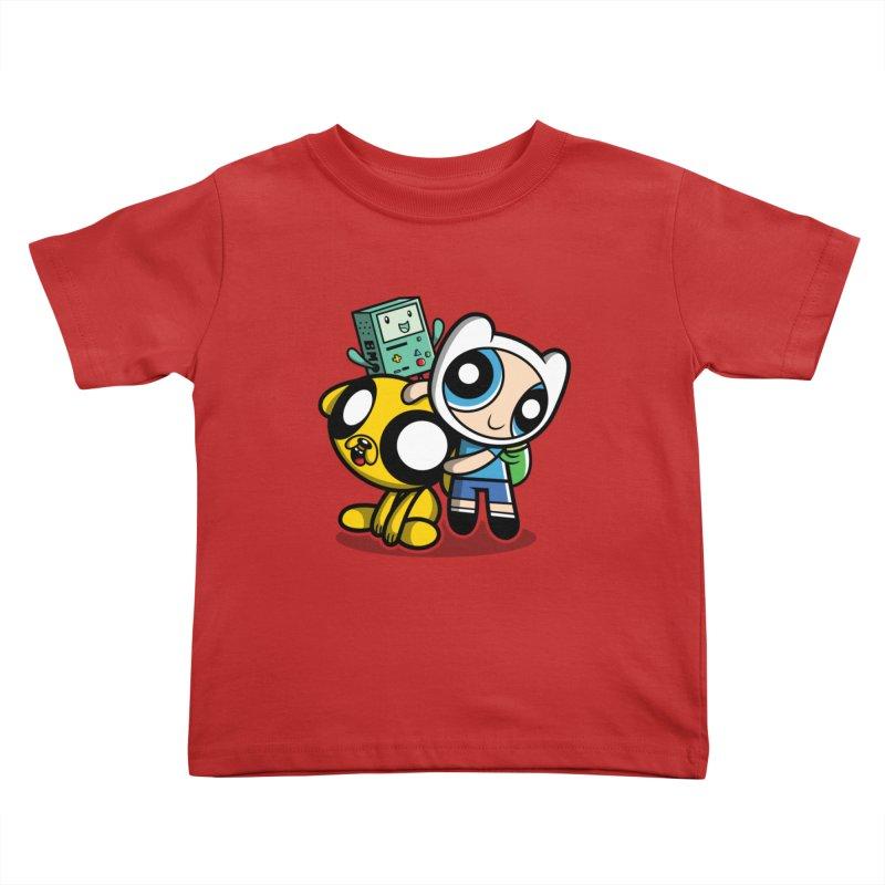 Adventure Puff Buds Kids Toddler T-Shirt by Moysche's Shop
