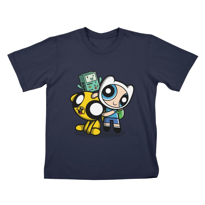 Adventure Puff Buds Kids T-Shirt by Moysche's Shop