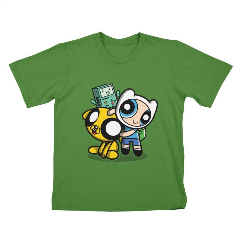 Adventure Puff Buds Kids T-Shirt by Moysche's Shop