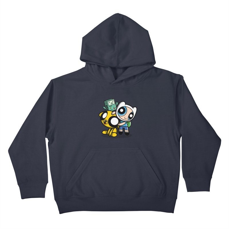 Adventure Puff Buds Kids Pullover Hoody by moysche's Artist Shop