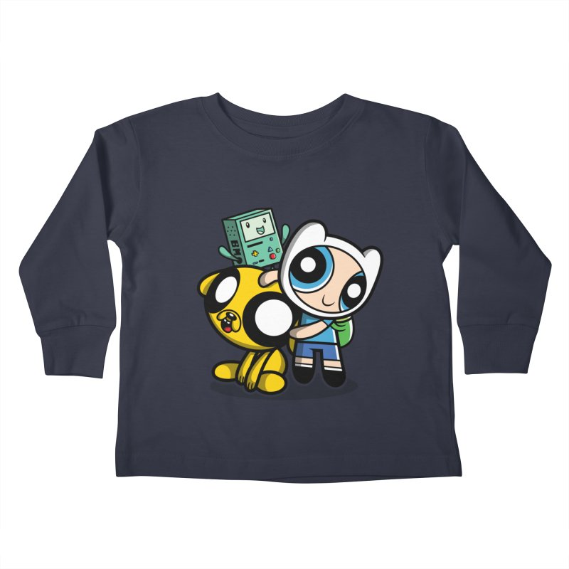 Adventure Puff Buds Kids Toddler Longsleeve T-Shirt by moysche's Artist Shop