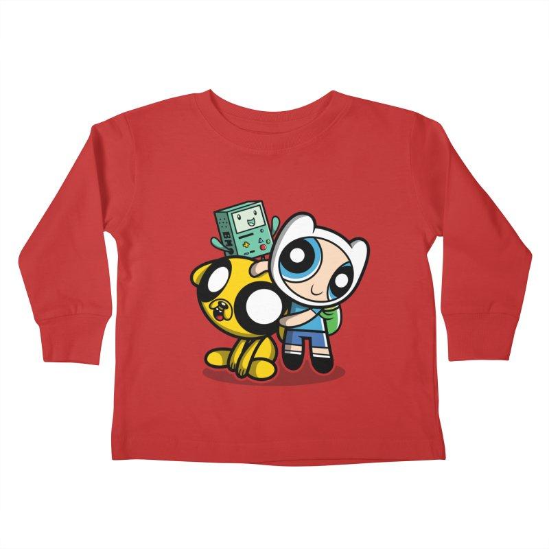 Adventure Puff Buds Kids Toddler Longsleeve T-Shirt by Moysche's Shop