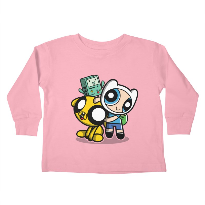 Adventure Puff Buds Kids Toddler Longsleeve T-Shirt by moysche's Artist Shop