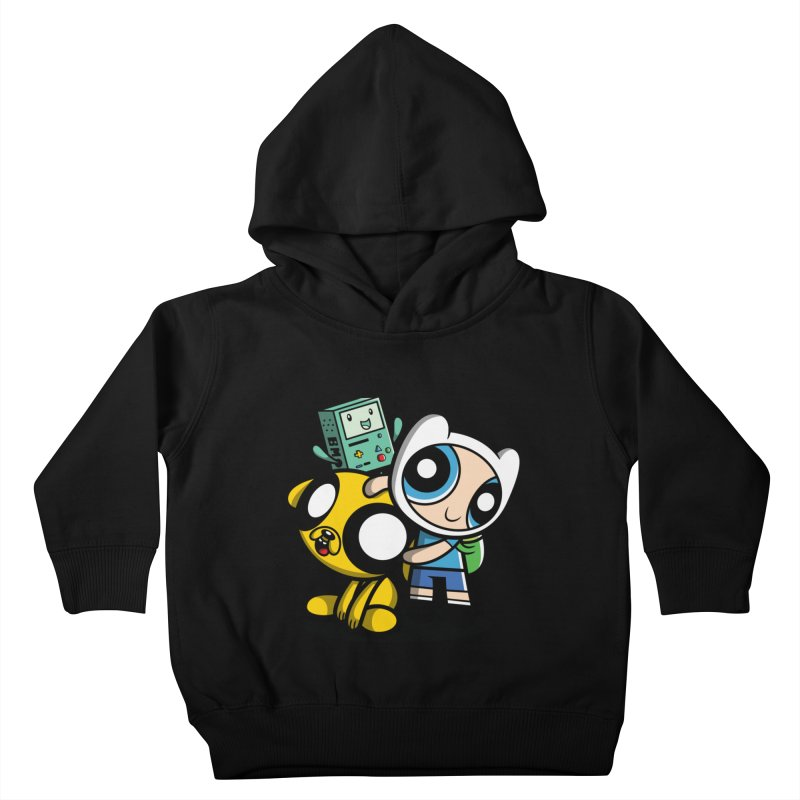 Adventure Puff Buds Kids Toddler Pullover Hoody by Moysche's Shop