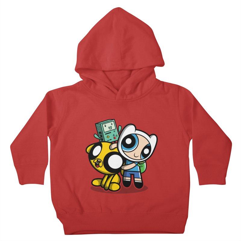 Adventure Puff Buds Kids Toddler Pullover Hoody by moysche's Artist Shop