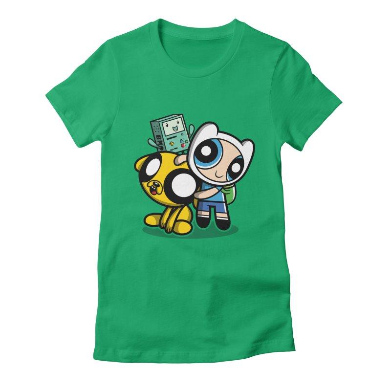 Adventure Puff Buds Women's Fitted T-Shirt by Moysche's Shop