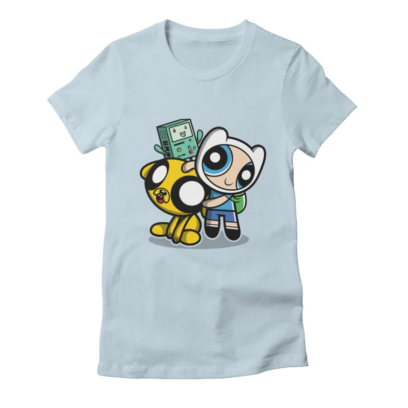 Adventure Puff Buds Women's Fitted T-Shirt by Moysche's Shop