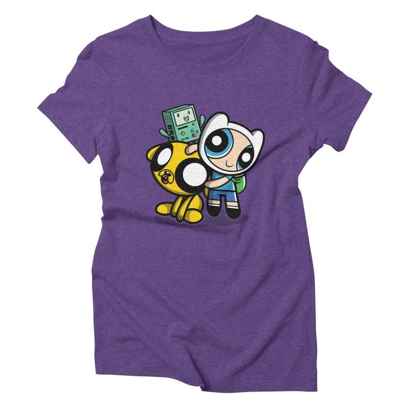 Adventure Puff Buds Women's Triblend T-shirt by moysche's Artist Shop