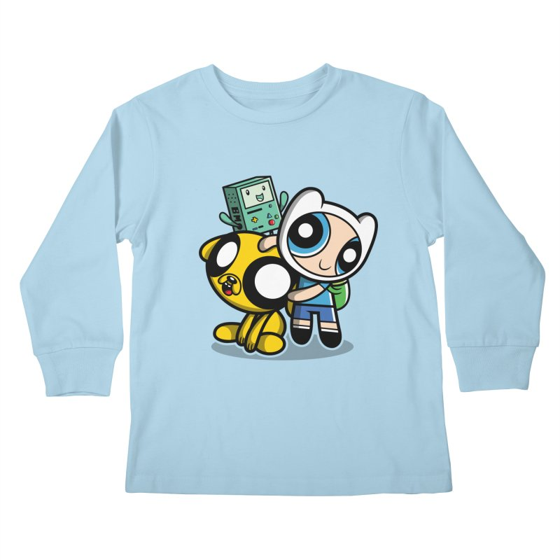 Adventure Puff Buds Kids Longsleeve T-Shirt by Moysche's Shop