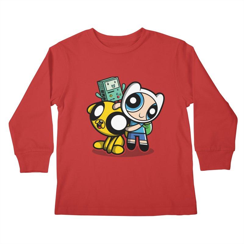Adventure Puff Buds Kids Longsleeve T-Shirt by Moysche's Shop