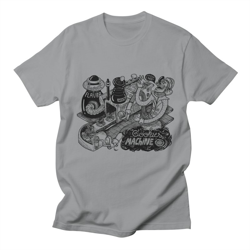 Cookies Machine Men's T-Shirt by MrCapdevila Artist Shop