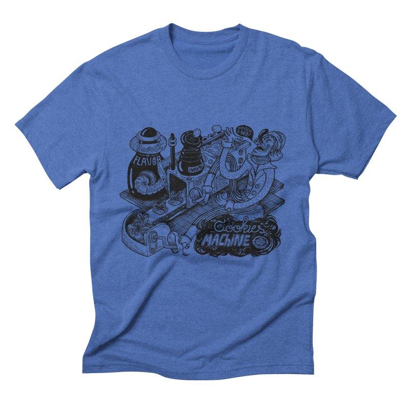 Cookies Machine Men's T-Shirt by MrCapdevila Artist Shop
