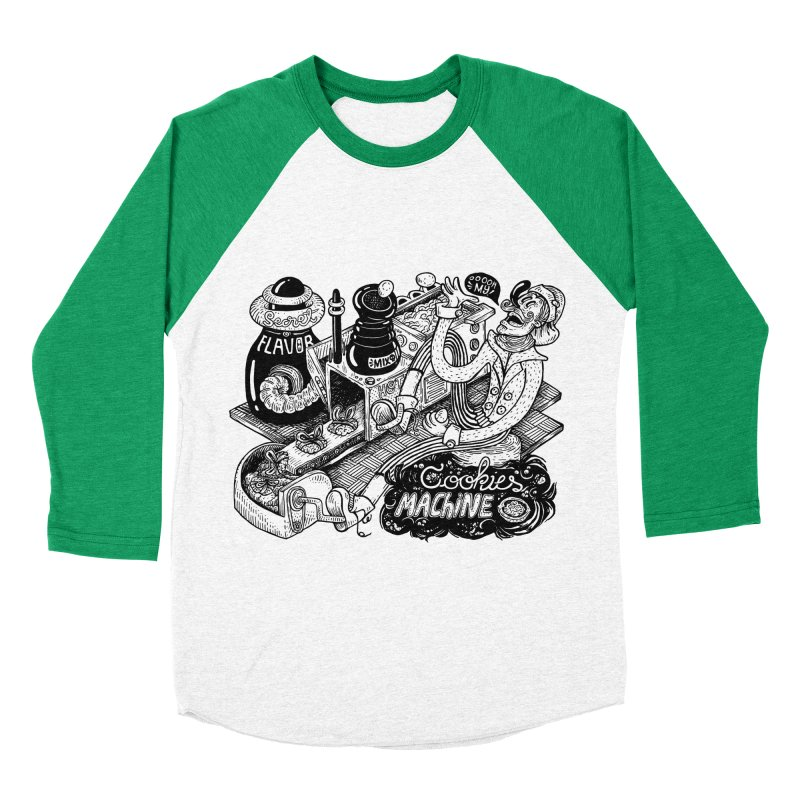 Cookies Machine Men's Longsleeve T-Shirt by MrCapdevila Artist Shop