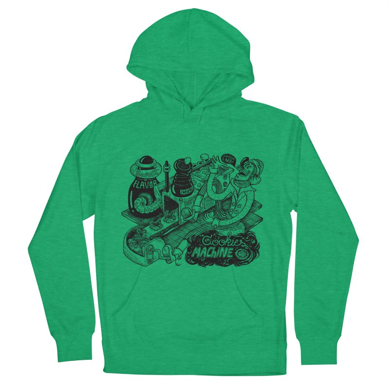 Cookies Machine Men's French Terry Pullover Hoody by MrCapdevila Artist Shop