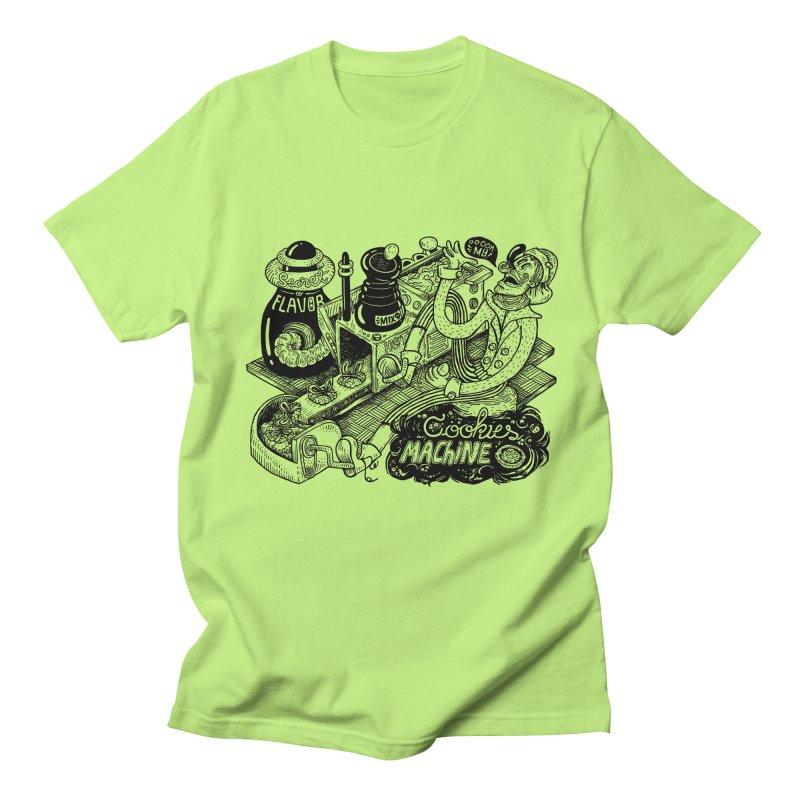 Cookies Machine Men's Regular T-Shirt by MrCapdevila Artist Shop