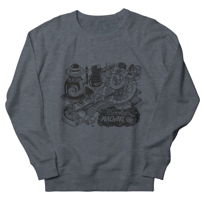 Cookies Machine Men's French Terry Sweatshirt by MrCapdevila Artist Shop